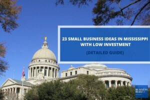23 Small Business Ideas In Mississippi With Low Investment In 2021