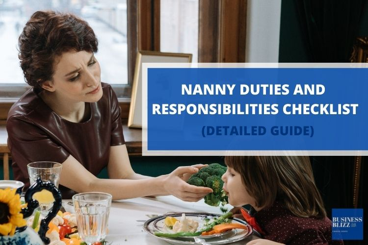 Nanny Duties And Responsibilities Checklist
