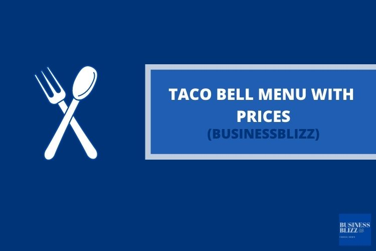 Taco Bell Menu With Prices